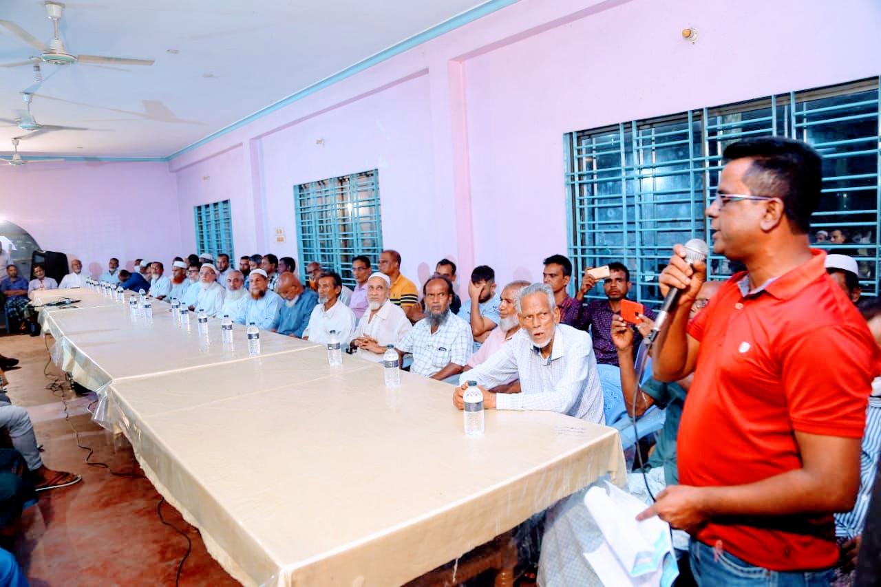জগন্নাথপুরে ইউপি সদস্য সামসুদ্দিন কামালীর মতবিনিময় সভা অনুষ্ঠিত
